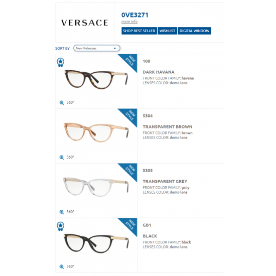 Versace VE 3271 108