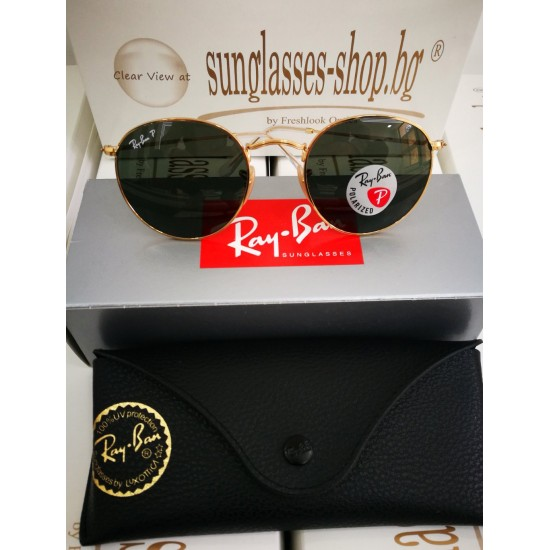 Ray-Ban Round Metal RB3447 001/58
