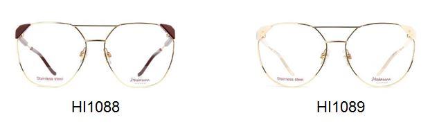 Тези блестящи рамки с големи размери загатват за висок статут на личността. Тънкият метал заедно с тясната триъгълна връзка на пантата добавят екстремна и модерна визия на всички момичета. Истинско усилване на гъвкавостта в 4 цвята и кръгло ъглово лице. Предлагат се в 4 цвята.
